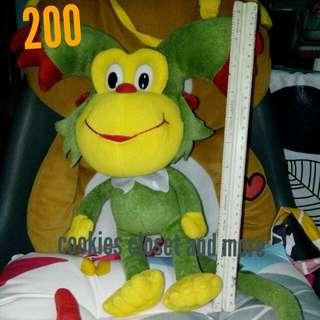 Preloved Monkey stufftoy