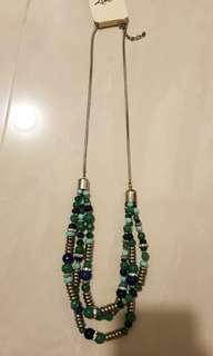 Necklace - lovisa bohemian green