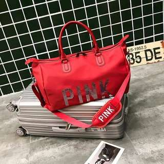 FREE SHIPPING!!! TRAVEL BAG IN RED (VS INSPIRED)