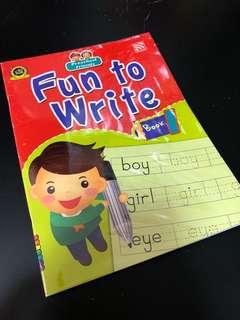 Pelangi Fun to Write Book 1