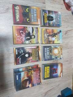 Ramlee Awang Murshid triller Novel collection.