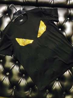 Authentic FENDI Iconic Crystal Bag Bugs Tee, Restock!!