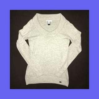 Mango Collared Sweatshirt