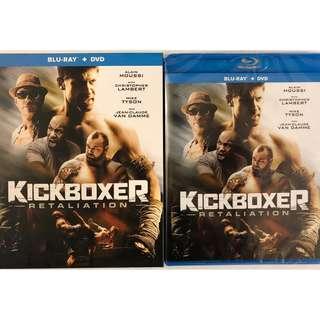 NEW KICKBOXER RETALIATION BLU RAY DVD 2 DISC + SLIPCOVER