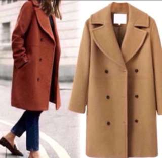 Europe Station Autumn and winter women's clothing wool coat coat in the long coat