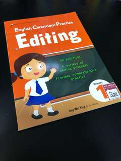 BN EPH English Classroom Practice - Editing (Primary 1)