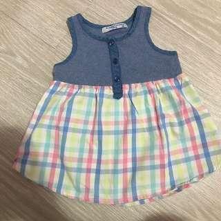 Gingersnap checkered dress