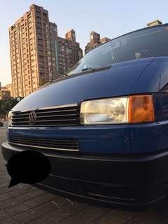 Volkswagen T4 1997 只跑8萬,可換車!