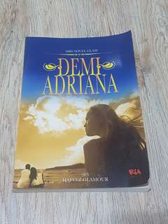 Demi Adriana Novel by DJ Hafeez Glamour
