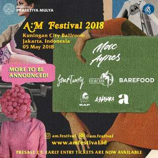 AM Festival tickets