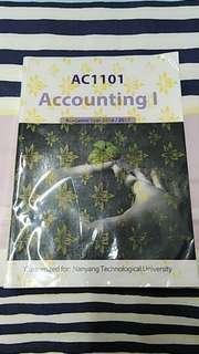AC1101 Accounting I Nanyang Technological University