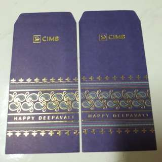 Angpow Money Packet Deepavali CIMB Bank