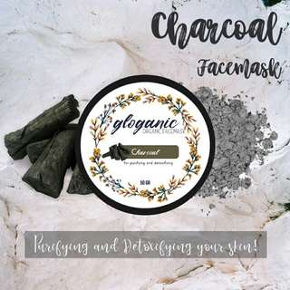 Gloganic Detoxifying and Purifying Charcoal Mask