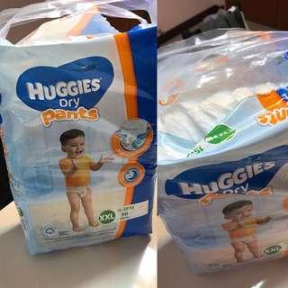 Huggies dry pants XXL