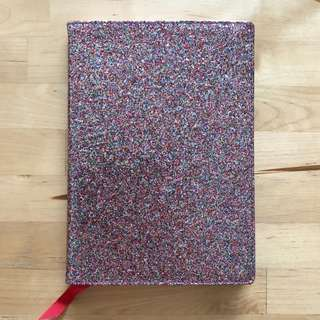 BN Cath Kidston Painted Glitter A5 Notebook
