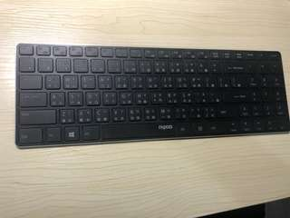 [E9100P-B] 5G刀鋒系列超薄無線鍵盤 - 黑色