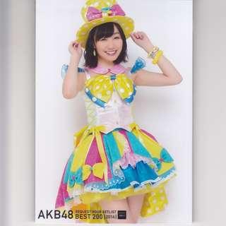 生寫真: AKB48 Request Hour Setlist Best 200 2014 封入