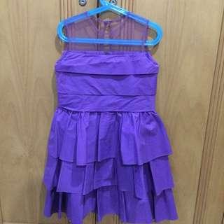 Purple Layers Dress