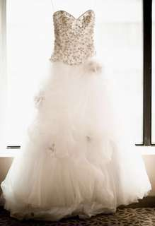 Allure Couture wedding dress plus free items