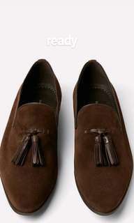 Smart leather loafers