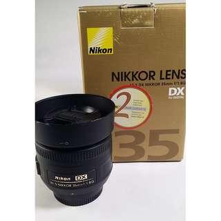 Nikon AF-S DX 35mm F1.8G (NL010)