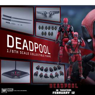 Hot toys deadpool figure
