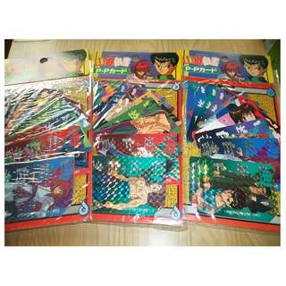 Yuyu hakusho PP pack new x3