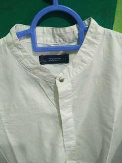 Preloved Baju putih wanita lengan 7/8 (Z&zoe)
