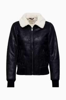 BNWT Esprit Leather Bomber Jacket (S)