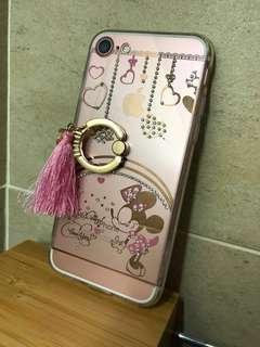 iPhone 7 透明電話殻(米妮)