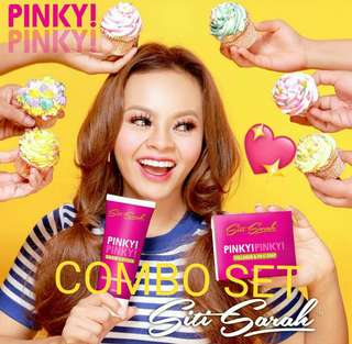 READY STOCK💕PINKY PINKY COMBO SET by SITI SARAH.. Processing proceed upon full payment received via bank transfer