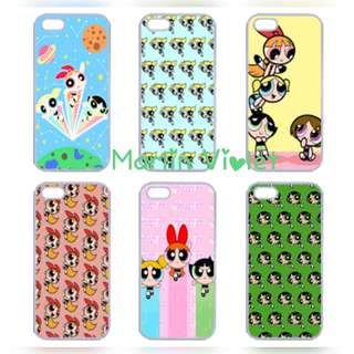 💜 Customise Customize Phone Case Cover - The Powerpuff Girls Unofficial Series