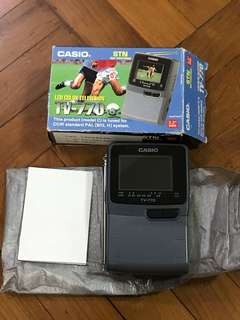 Casio - Mini LCD color television