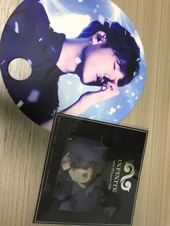 Infinite L music card + 扇 50@2
