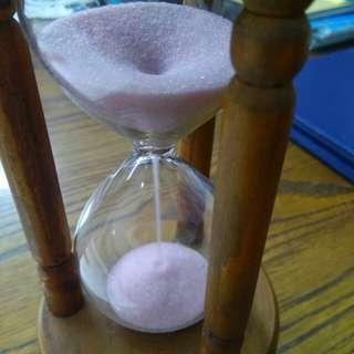 old sand clock