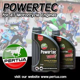 Pertua Motorcycle oil