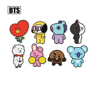 [PO] BTS BT21 Badge