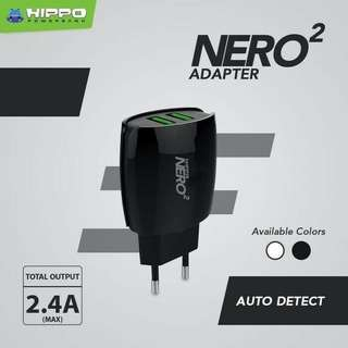 Adaptor Hippo Nero 2 Dual Port USB 2.4A