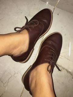Casual shoes leather. Forever21
