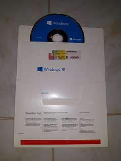 Windows 10 Home 64bit