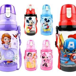✳️Free gift ✳️Disney Avengers Kids Water Bottle Direct Drink 500ml BPA-Free