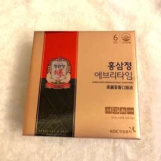 🚚 韓國 正官庄 正貨 高麗蔘膏口服液 10ml*30包