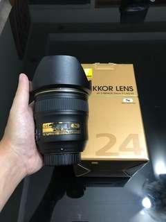 Nikon 24mm f/1.4G ED