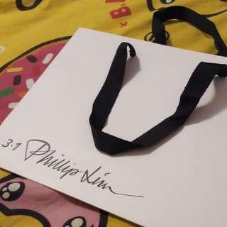 名牌 3.1 Phillip Lim 細紙袋 shopping bag