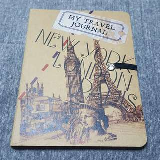 Travel Journal notebook