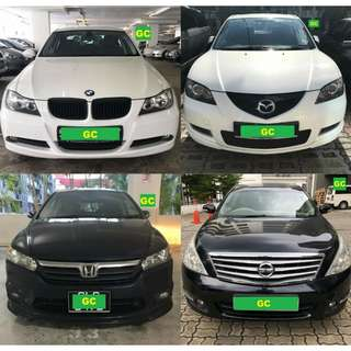 Mazda 3 RENT CHEAPEST RENTAL PROMO FOR Grab/Personal USE RENTING OUT