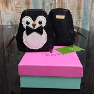 [KATE SPADE] Clifton Lane Sparkly Penguin Sparkly Coin Purse