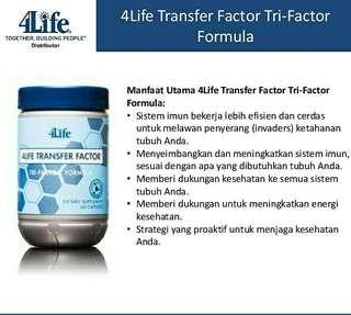 Transfer Factor Tri-state Factor Formula