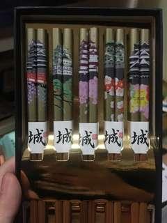 日本名城箸@筷子