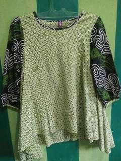 Preloved baju batik wanita
